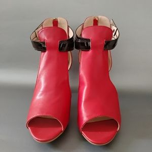 New Leather Open Toe Shoes